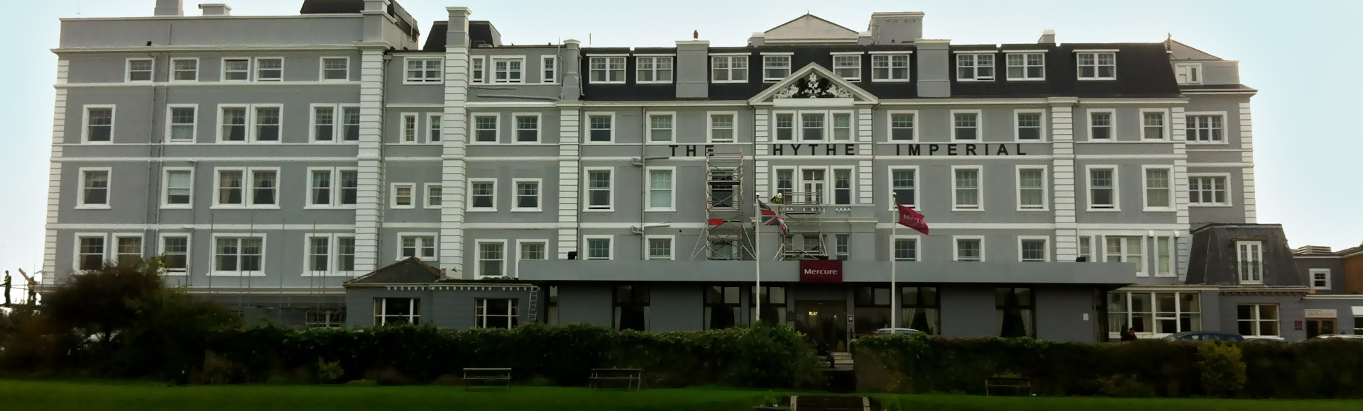 Painting and Decorating Services - Hythe Imperial Hotel